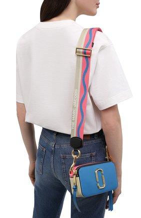Женская сумка snapshot small MARC JACOBS (THE) синего цвета, арт. M0012007   Фото 2