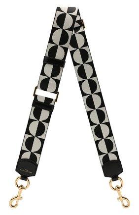 Женские ремень для сумки MARC JACOBS (THE) черно-белого цвета, арт. S303M06SP21   Фото 1