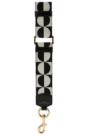 Женские ремень для сумки MARC JACOBS (THE) черно-белого цвета, арт. S303M06SP21   Фото 2