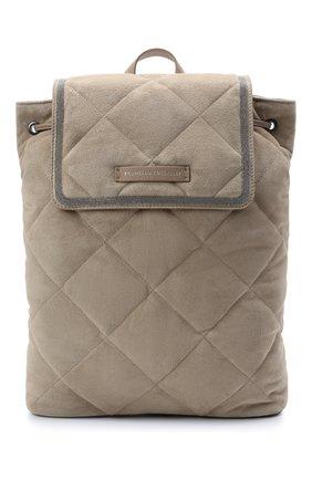 Женский рюкзак BRUNELLO CUCINELLI светло-серого цвета, арт. MBDLD2217P   Фото 1