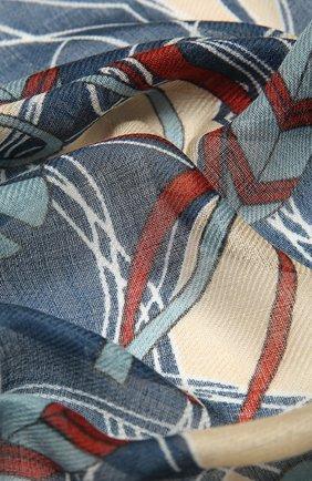 Женская шаль из кашемира и шелка LORO PIANA синего цвета, арт. FAL7768   Фото 2