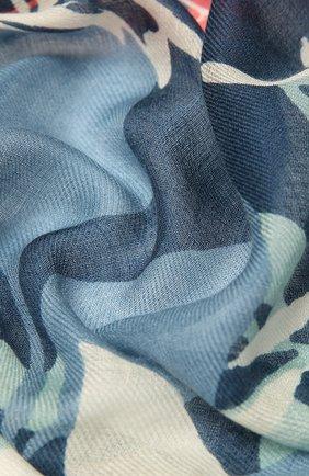 Женская шаль из кашемира и шелка LORO PIANA синего цвета, арт. FAL7631   Фото 2