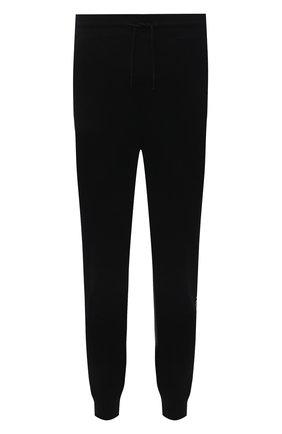 Мужские хлопковые джоггеры HUGO черного цвета, арт. 50456884 | Фото 1 (Силуэт М (брюки): Джоггеры; Длина (брюки, джинсы): Стандартные; Материал внешний: Хлопок; Кросс-КТ: Спорт; Стили: Спорт-шик; Мужское Кросс-КТ: Брюки-трикотаж)