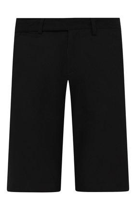 Мужские хлопковые шорты OFF-WHITE черного цвета, арт. 0MCB050S21FAB001 | Фото 1