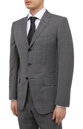 Мужской шерстяной костюм TOM FORD серого цвета, арт. 0RJB18/21454C | Фото 2