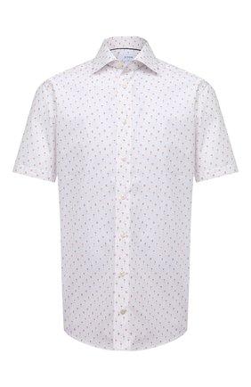 Мужская хлопковая рубашка ETON белого цвета, арт. 1000 02263 | Фото 1