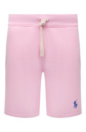Мужские шорты POLO RALPH LAUREN розового цвета, арт. 710790292 | Фото 1