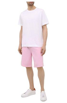 Мужские шорты POLO RALPH LAUREN розового цвета, арт. 710790292 | Фото 2