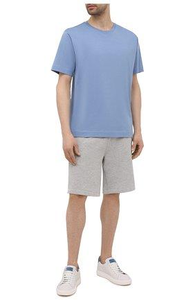Мужские шорты POLO RALPH LAUREN серого цвета, арт. 710790292 | Фото 2