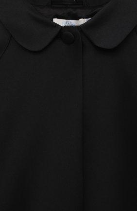 Детский тренч ZHANNA & ANNA черного цвета, арт. ZAB02022021   Фото 3