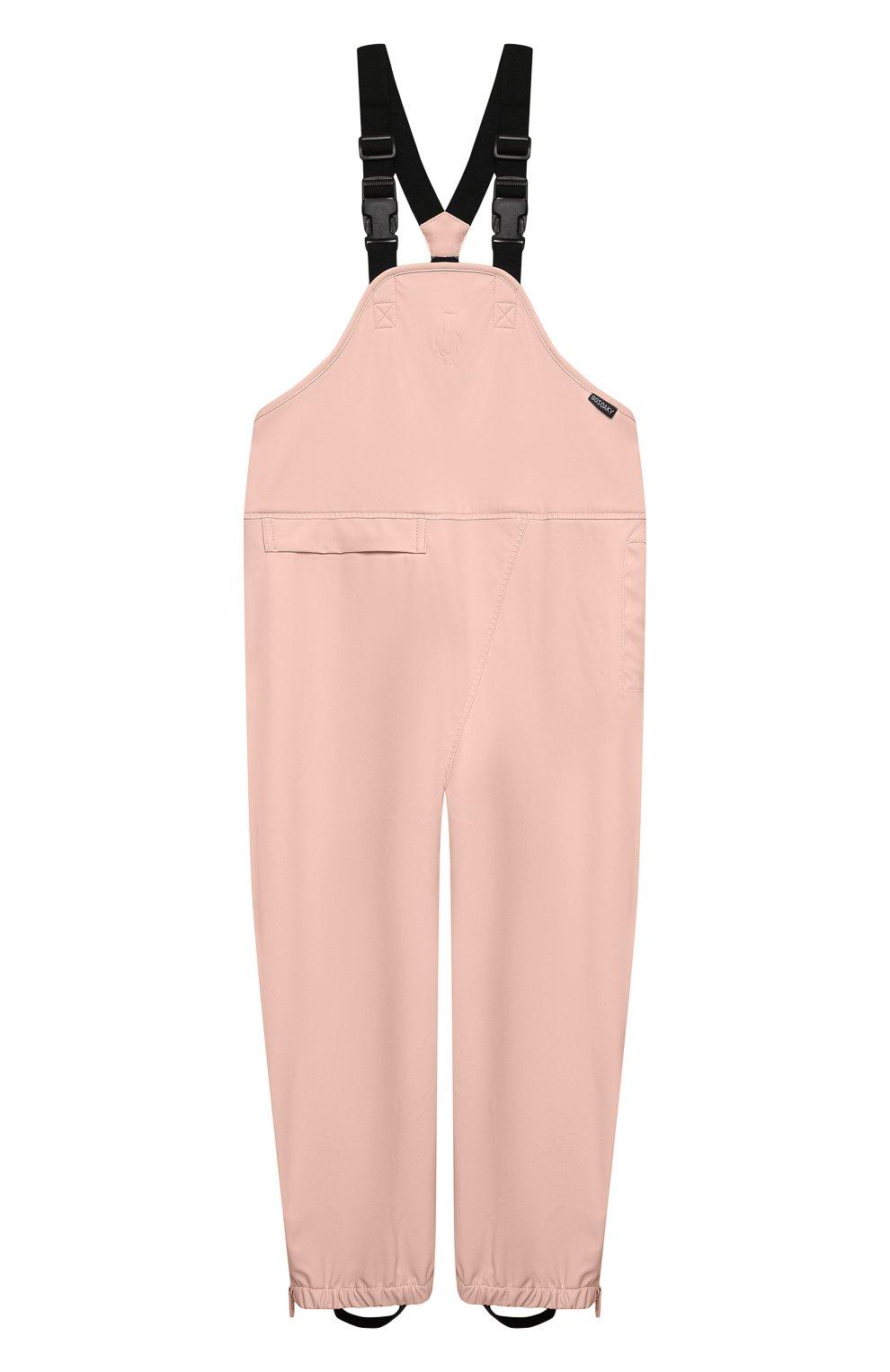 Детский комбинезон GOSOAKY светло-розового цвета, арт. 211.101.301/MICR0 PU | Фото 1 (Рукава: Короткие; Материал внешний: Синтетический материал; Девочки Кросс-КТ: Комбинезон-верхняя одежда; Материал подклада: Синтетический материал; Ростовка одежда: 5 лет | 110 см, 3 года | 98 см)