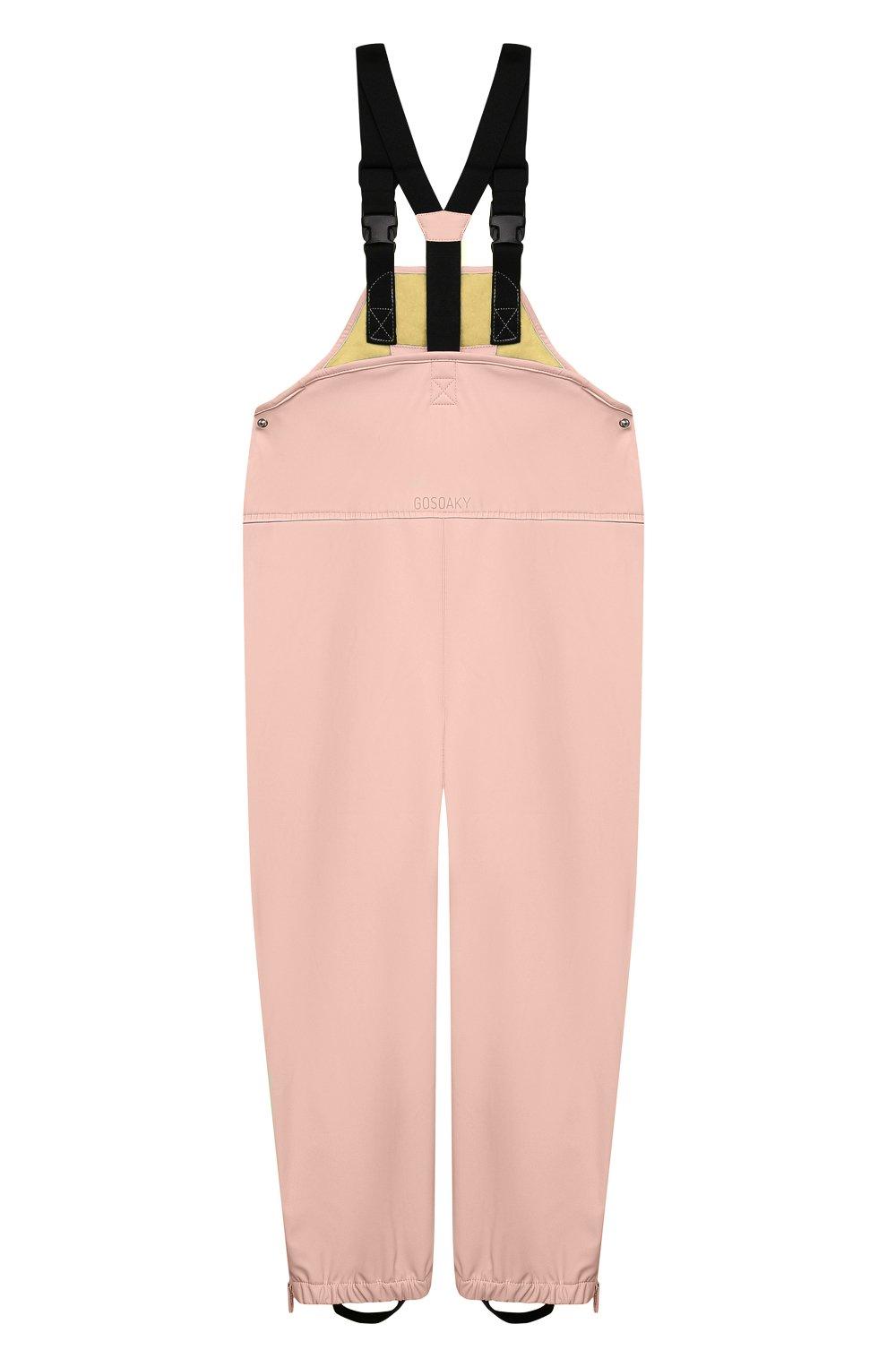 Детский комбинезон GOSOAKY светло-розового цвета, арт. 211.101.301/MICR0 PU | Фото 2 (Рукава: Короткие; Материал внешний: Синтетический материал; Девочки Кросс-КТ: Комбинезон-верхняя одежда; Материал подклада: Синтетический материал; Ростовка одежда: 5 лет | 110 см, 3 года | 98 см)