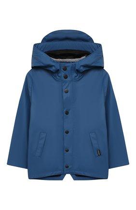 Детский дождевик с капюшоном GOSOAKY синего цвета, арт. 211.101.302/MICR0 PU | Фото 1