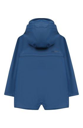 Детский дождевик с капюшоном GOSOAKY синего цвета, арт. 211.101.302/MICR0 PU | Фото 2