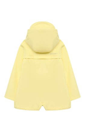 Детский дождевик с капюшоном GOSOAKY желтого цвета, арт. 211.101.302/MICR0 PU | Фото 2