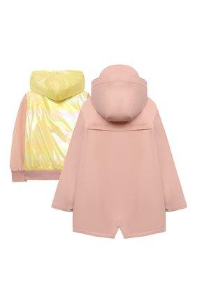 Детский комплект из куртки и дождевика GOSOAKY светло-розового цвета, арт. 211.101.304/MICR0 PU | Фото 2