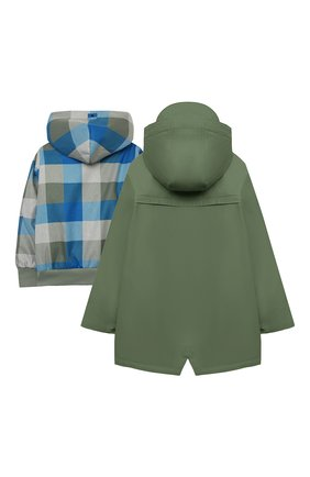 Детский комплект из куртки и дождевика GOSOAKY зеленого цвета, арт. 211.101.304/MICR0 PU | Фото 2