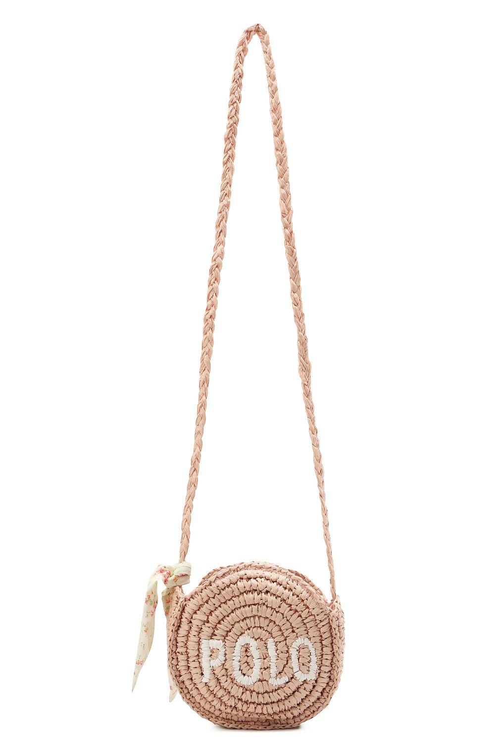 Детская сумка RALPH LAUREN светло-розового цвета, арт. 400836136   Фото 1