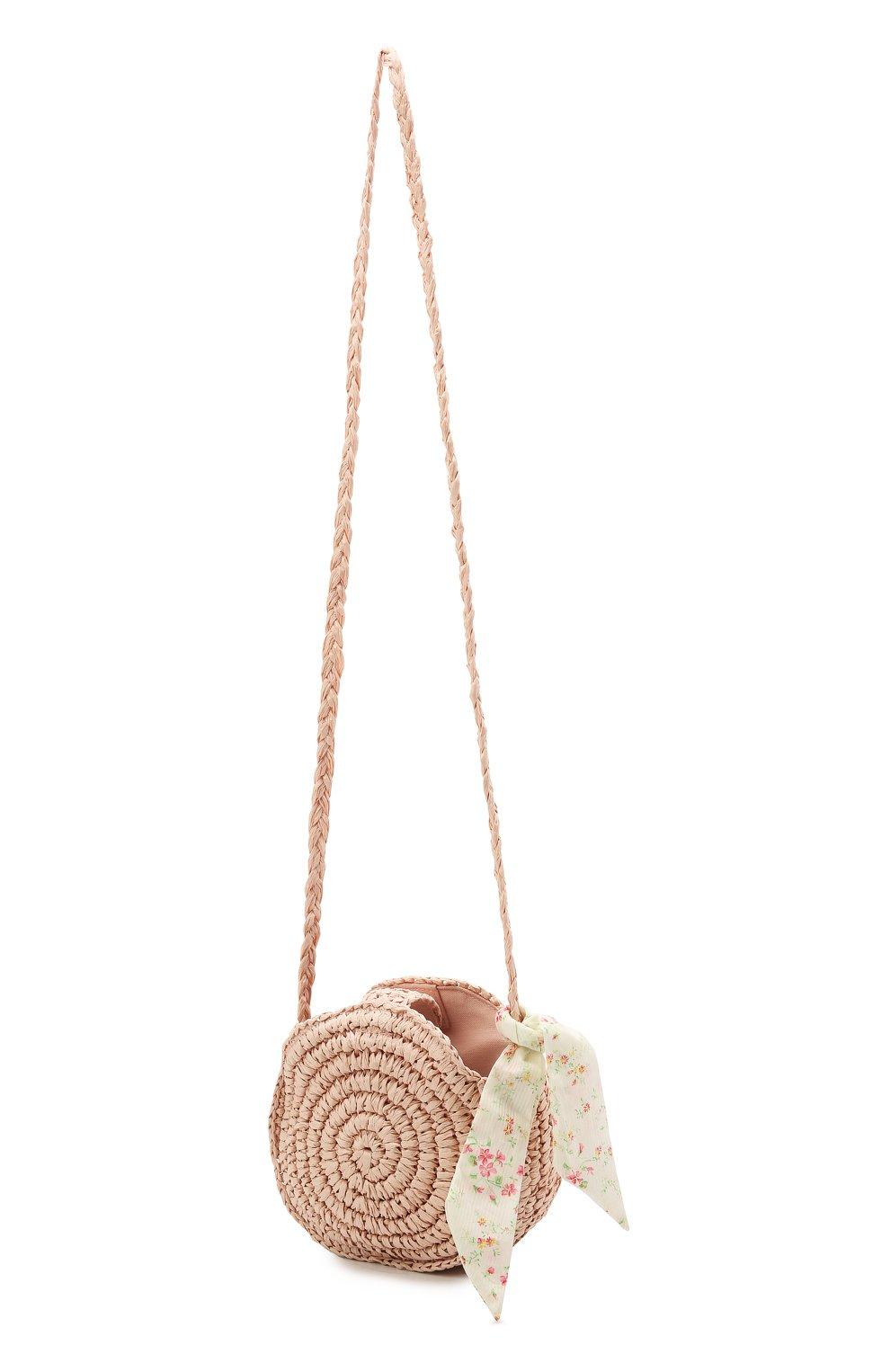 Детская сумка RALPH LAUREN светло-розового цвета, арт. 400836136   Фото 2