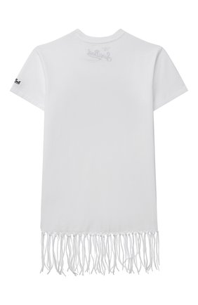 Хлопковое платье-футболка   Фото №2