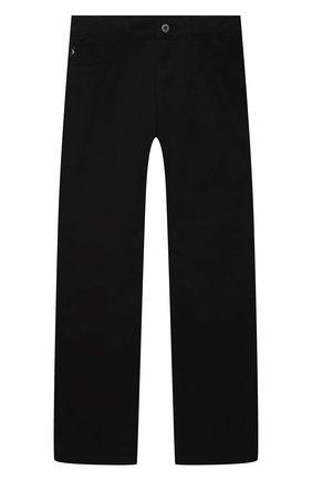 Детские джинсы EMPORIO ARMANI черного цвета, арт. 8N4J06/4NGGZ   Фото 1