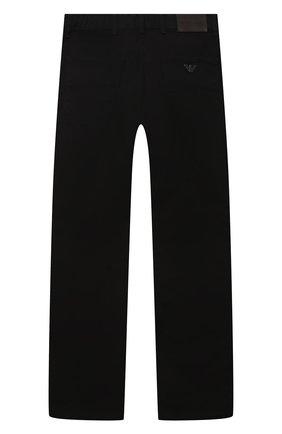 Детские джинсы EMPORIO ARMANI черного цвета, арт. 8N4J06/4NGGZ   Фото 2