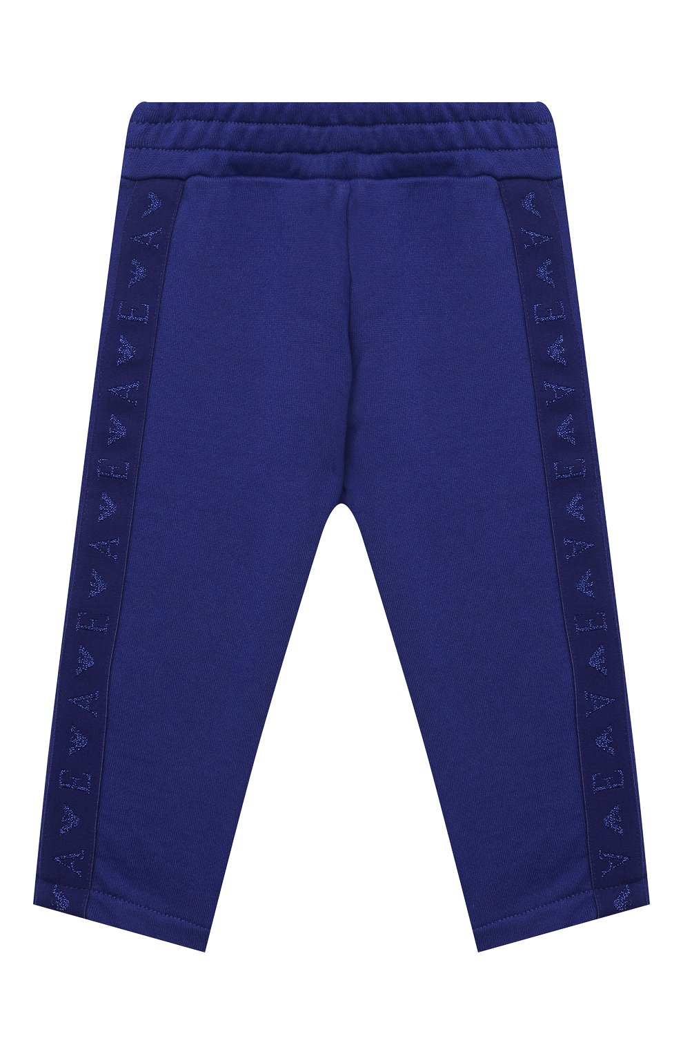Детские брюки EMPORIO ARMANI синего цвета, арт. 6KEP09/3J44Z | Фото 1