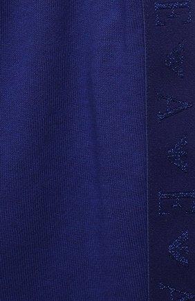Детские брюки EMPORIO ARMANI синего цвета, арт. 6KEP09/3J44Z | Фото 3