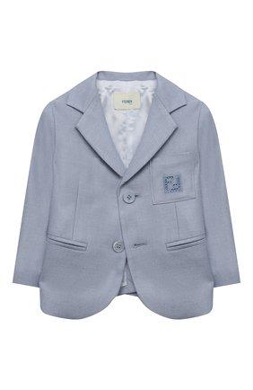 Пиджак из шелка и шерсти | Фото №1
