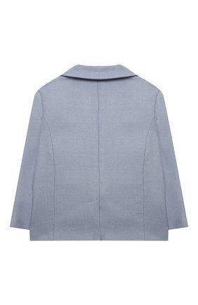 Пиджак из шелка и шерсти | Фото №2