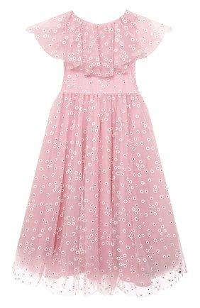 Детское платье SONIA RYKIEL ENFANT розового цвета, арт. 21S1DR12   Фото 1