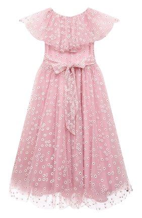 Детское платье SONIA RYKIEL ENFANT розового цвета, арт. 21S1DR12   Фото 2
