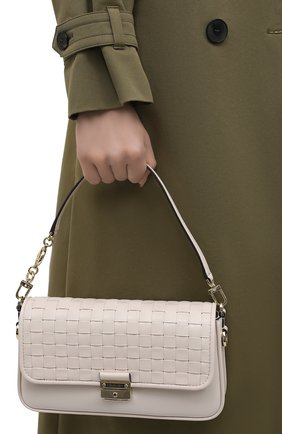 Женская сумка bradshaw MICHAEL MICHAEL KORS кремвого цвета, арт. 30S1L2BL1T | Фото 2