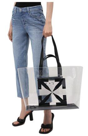Женский сумка-шопер OFF-WHITE черного цвета, арт. 0MNA162S21PLA001 | Фото 2