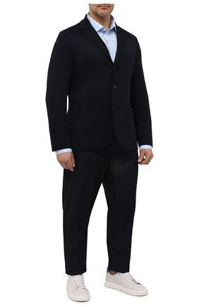 Мужская хлопковая сорочка ETON голубого цвета, арт. 1000 01837 | Фото 2