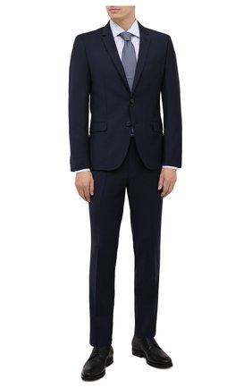 Мужская хлопковая сорочка LUCIANO BARBERA голубого цвета, арт. 105419/72027 | Фото 2