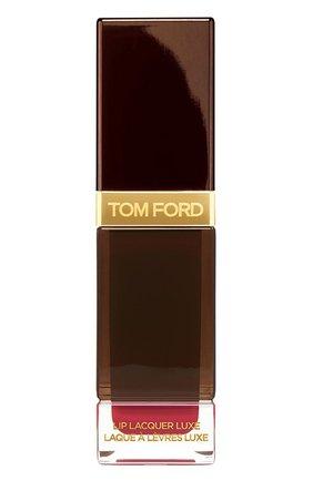 Жидкая помада lip lacquer luxe matte, оттенок amaranth TOM FORD бесцветного цвета, арт. T725-09 | Фото 1