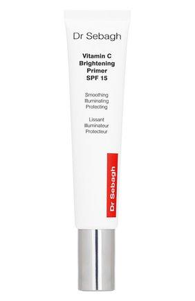 Крем-праймер с витамином с для сияния и защиты кожи spf 15 DR.SEBAGH бесцветного цвета, арт. 2294 | Фото 1