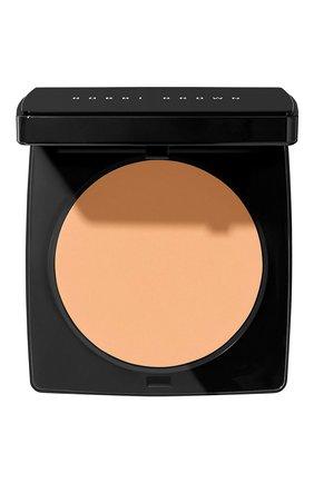 Компактная пудра sheer finish pressed powder, soft honey BOBBI BROWN бесцветного цвета, арт. ENPT-08   Фото 1