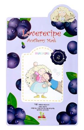 Тканевая маска sally's box с ягодами асаи ULTRU бесцветного цвета, арт. 8809208138957   Фото 1