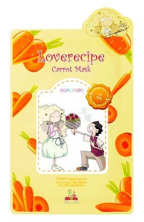 Тканевая маска sally's box с морковью ULTRU бесцветного цвета, арт. 8809208139060   Фото 1