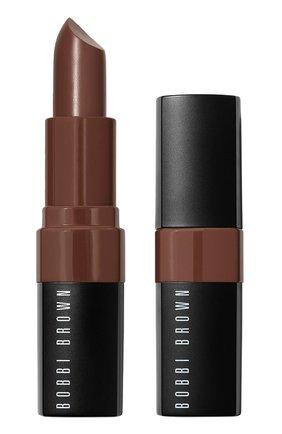 Помада для губ real nudes crushed lip color, dark chocolate BOBBI BROWN бесцветного цвета, арт. EH21-37   Фото 1