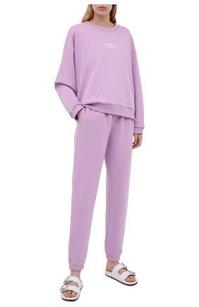 Женский хлопковый костюм SEVEN LAB лавандового цвета, арт. SWP21-D lavender   Фото 1