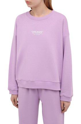 Женский хлопковый костюм SEVEN LAB лавандового цвета, арт. SWP21-D lavender   Фото 2