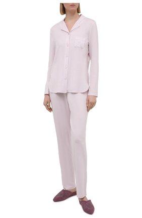 Женская пижама LOUISFERAUD светло-розового цвета, арт. 3883032 | Фото 1