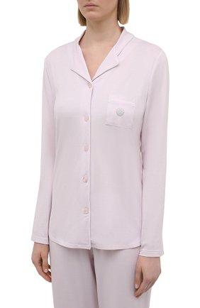 Женская пижама LOUISFERAUD светло-розового цвета, арт. 3883032 | Фото 2