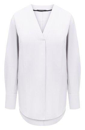 Женская хлопковая блузка DANIILBERG белого цвета, арт. BL001.20 | Фото 1