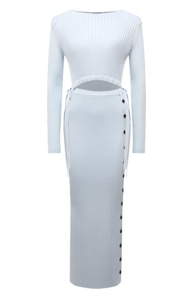 Женское платье SELF-PORTRAIT голубого цвета, арт. SS21-082   Фото 1
