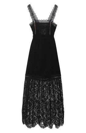 Женское платье SELF-PORTRAIT черного цвета, арт. SS21-088L | Фото 1