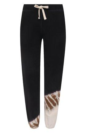 Женские хлопковые джоггеры ELECTRIC&ROSE бежевого цвета, арт. LFBT20-CREST | Фото 1 (Женское Кросс-КТ: Джоггеры - брюки; Стили: Спорт-шик; Силуэт Ж (брюки и джинсы): Джоггеры; Материал внешний: Хлопок; Длина (брюки, джинсы): Стандартные)